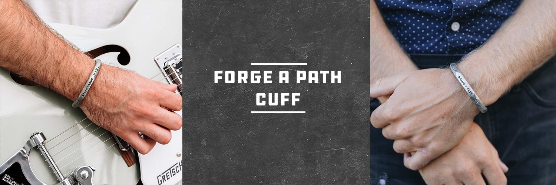 Forge a Path Cuff
