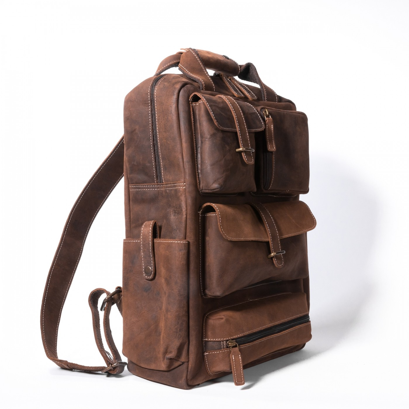 Adventure Utility Backpack [Brown]