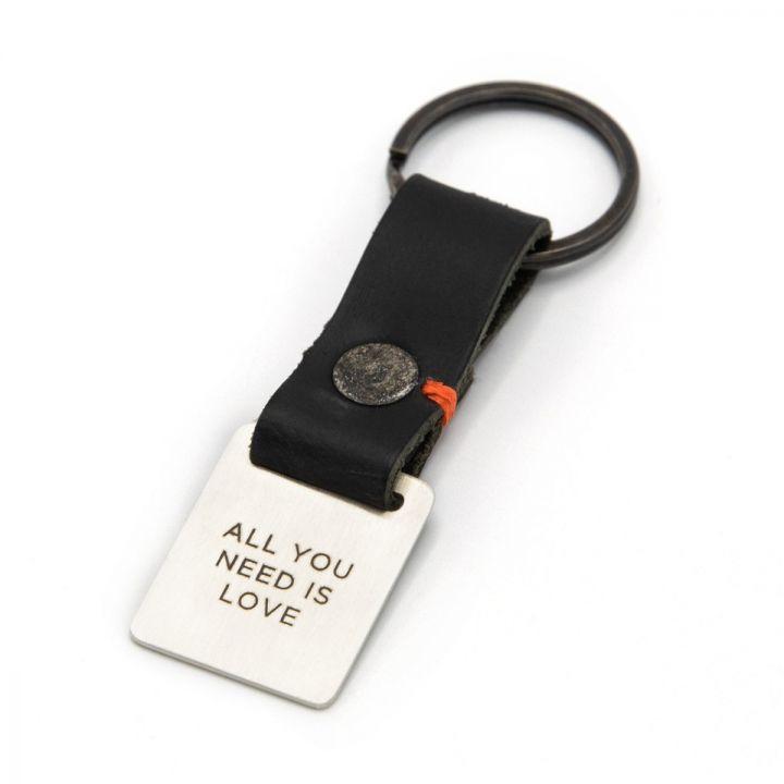 Stability Custom Key Ring [Black]