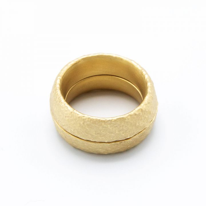 Life Together Ring Pair [14k Gold]