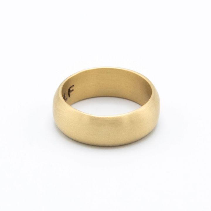 Collide with the Sky Ring [Smooth 10k Gold]