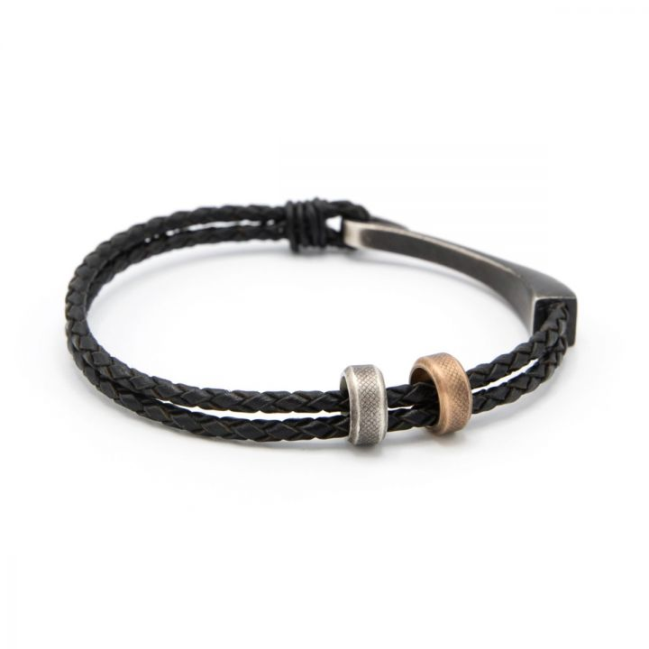 Grapple Bracelet [Black Sterling]