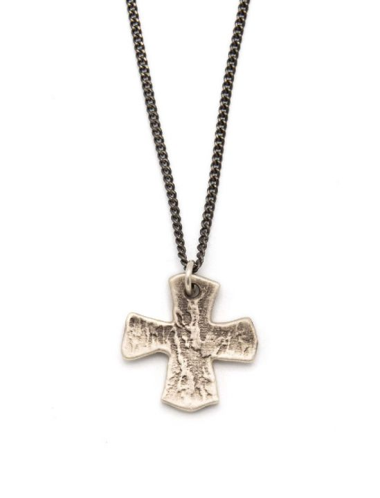 Steadfast Cross Necklace [Sterling Silver]