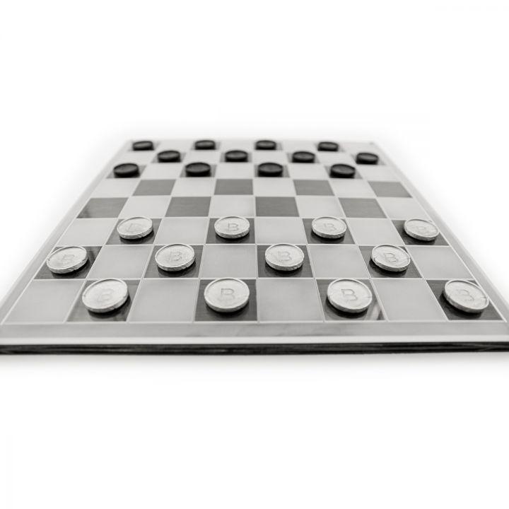 Flying King Checker Set