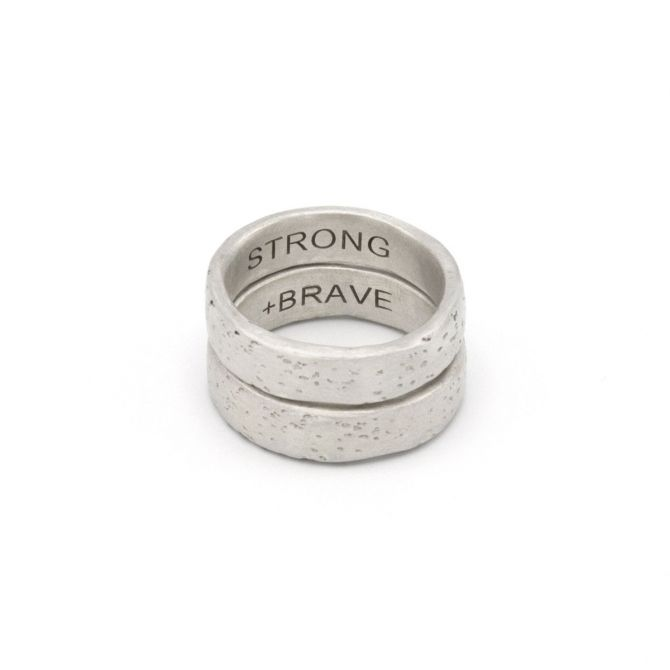 Withstand Stacking Ring [Sterling Silver]