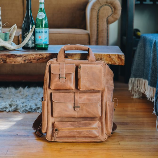 Adventure Utility Backpack [Tan]
