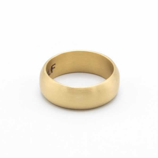 Collide with the Sky Ring [Smooth 14k Gold]