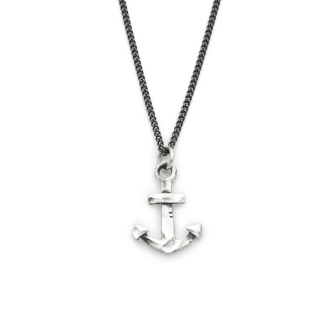 Anchor of My Soul Necklace [Sterling Silver]