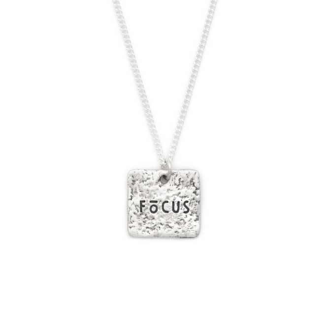 Focus Necklace [Sterling Silver]