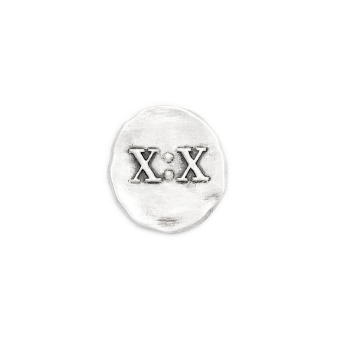 John 10:10 Pocket Token [Sterling Silver]