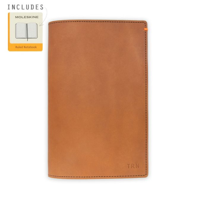 Discover Leather Journal [Tan]