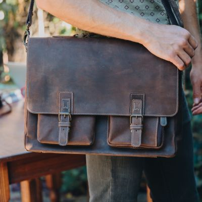 Traveler Messenger Brief [Brown]