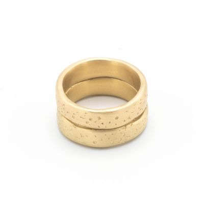 Withstand Stacking Ring [10k Gold]
