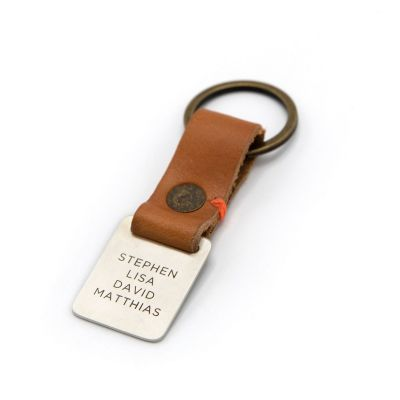 Stability Custom Key Ring [Tan]
