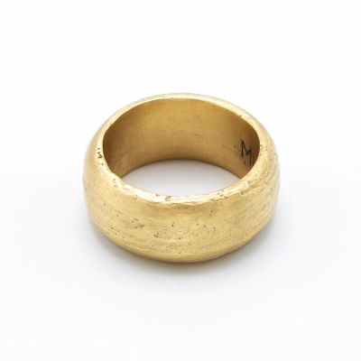 Collide With The Sky Ring [Textured 10k Gold]