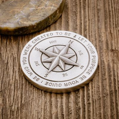 Guiding Compass Paperweight [Pewter]
