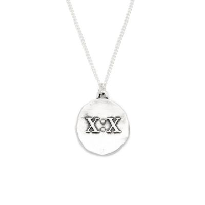 John 10:10 Necklace [Sterling Silver]