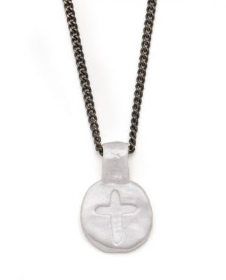 Charis Cross Necklace [Sterling Silver]