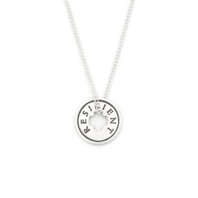 Resilient Necklace [Sterling Silver]