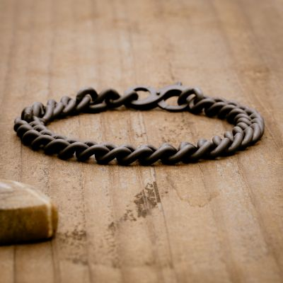 Always Unified Bracelet [Black Sterling]