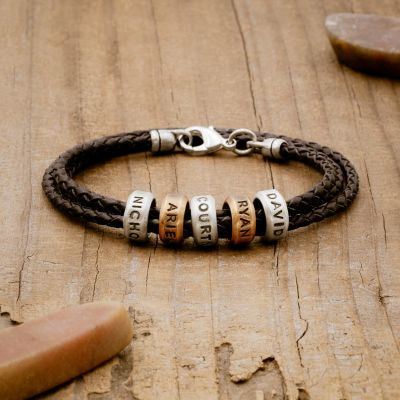 Limitless Leather Bracelet