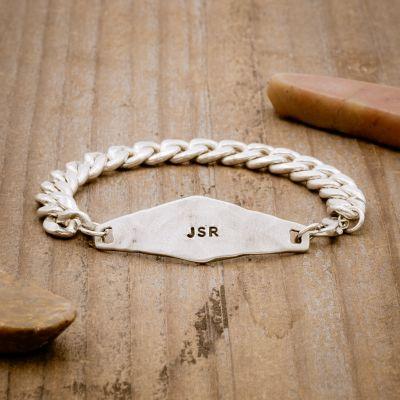 Identity Bracelet [Sterling Silver]