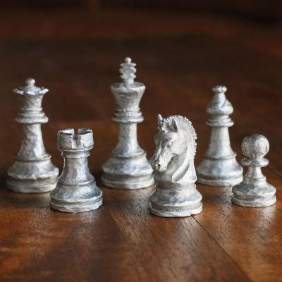 End Game Chess Pieces [Pewter]