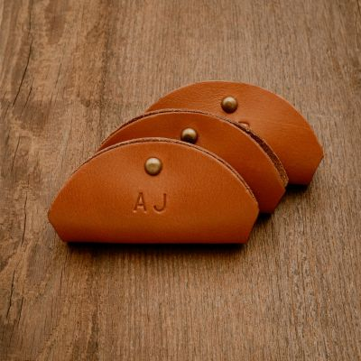 Leather Cord Holster - Set of 3 [Tan]