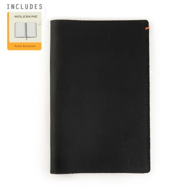 Discover Leather Journal [Black]