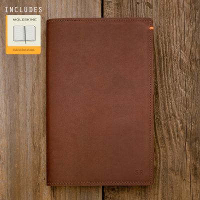 Discover Leather Journal [Brown]