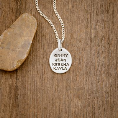 Now + Forever Necklace [Sterling Silver]