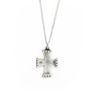 Completeness Cross Necklace [Sterling Silver]
