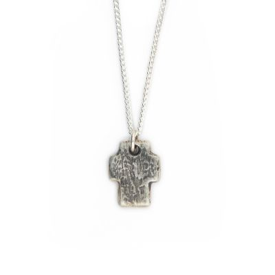 Endure Cross Necklace [Sterling Silver]