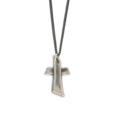 Accord Cross Necklace [Sterling Silver]