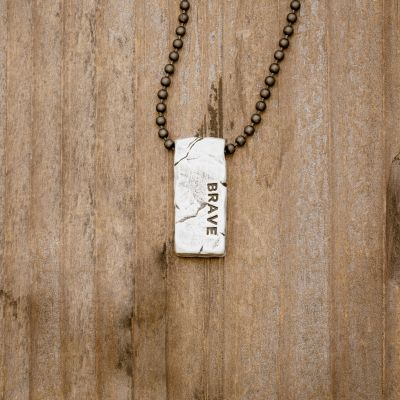 Word Of The Year Necklace [Sterling Silver]