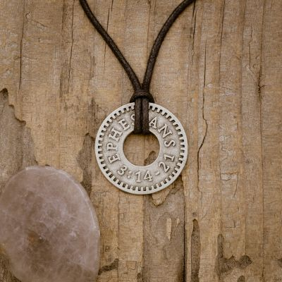 Ephesians Coin Necklace [Pewter]