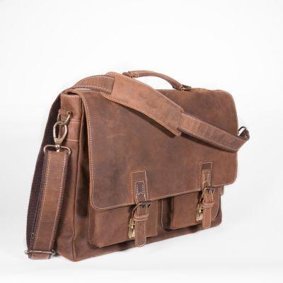 Traveler Messenger Brief [Brown]