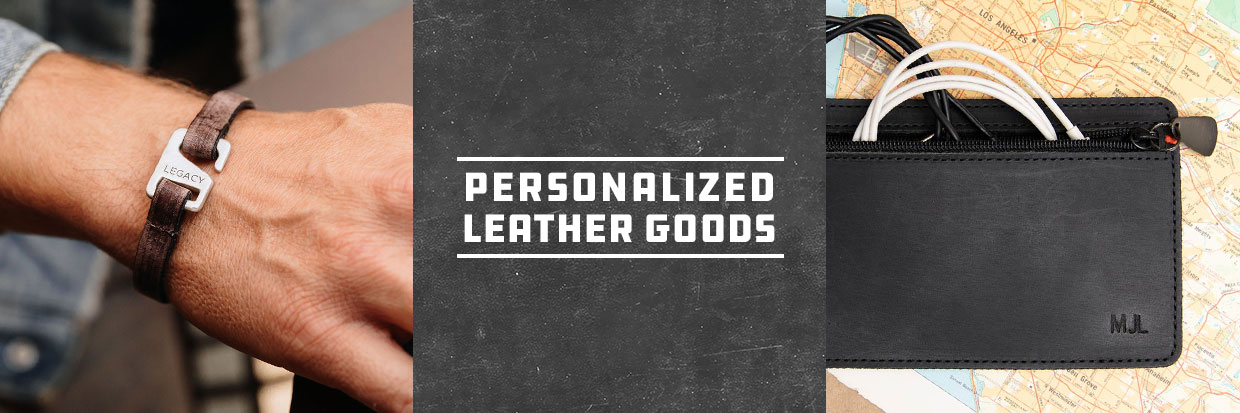 Personalized Leather Goods by Stephen David Leaonard