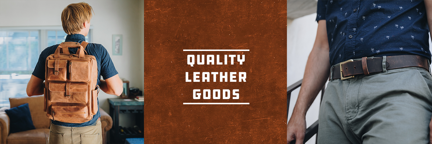 Quality Leather Goods by Stephen David Leonard