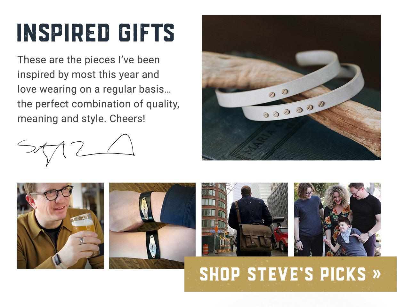 Inspired Gifts by Stephen David Leonard